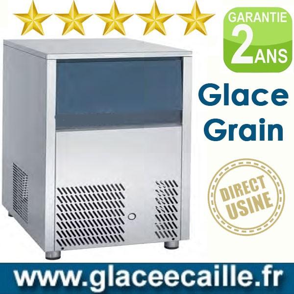 Machine à glace grain 150kg/24h ODYSSEE  stockage 38kg