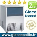 Machine à glaçons nuggets 140 kg/24h ODYSSEE
