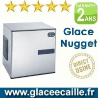 Machine à glaçons nuggets 440 kg/24h ODYSSEE sans bac de stockage