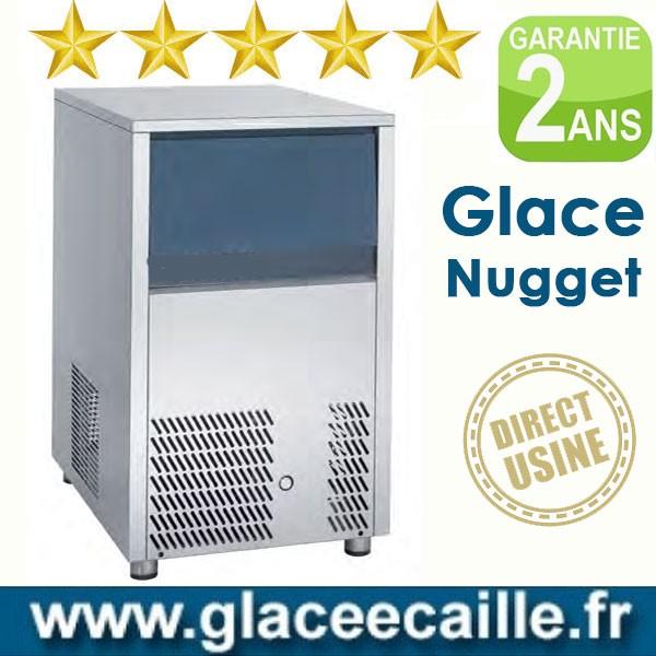 Machine à glaçons nugget 140 kg/24h