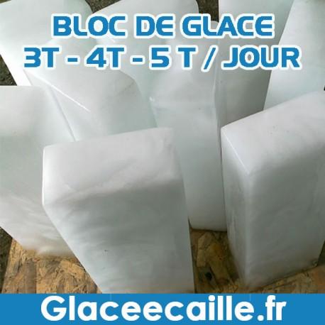 Machine à bloc de glace afrique