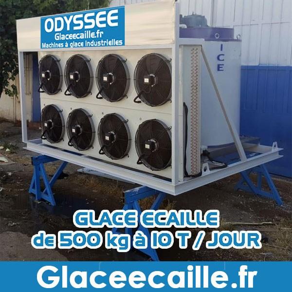 Machine à Glace écaille de 500 kg à 10.000 kg/24h