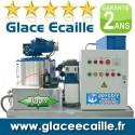 Glace écaille 10 tonnes paillette pour poissonnier pèche et aquaculture - 10 Tonnes par 24h