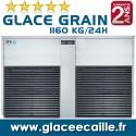 ITV Machine a glace grain Pilée 1100 kilo par 24h ITV