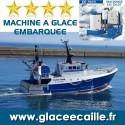 Glace en écaille EMBARQUEE bateau peche chalutier