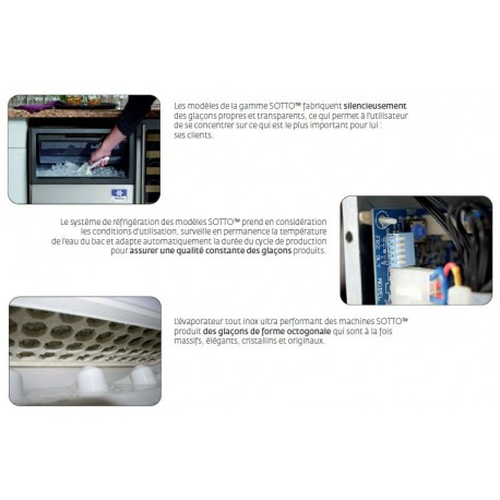 MACHINE GLACON PLEIN MANITOWOC UG030A 30KG/24H