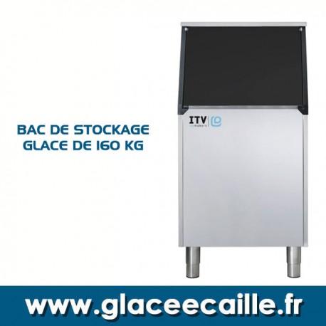 BAC DE STOCKAGE GLACE 160 KG ITV