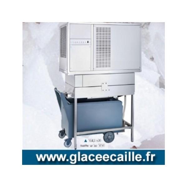 ITV Machine a glace grain Pilée 400 kg par 24h