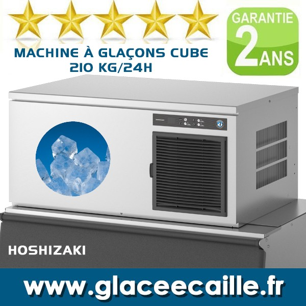 MACHINE A GLACON CUBE 210 KG R290 22 Gr. CUBES