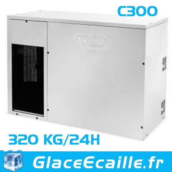 BREMA Machine à glaçons C300 refroidie par air