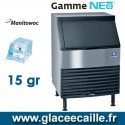 MACHINE GLACON CUBE MANITOWOC UR0190A 79KG/24H
