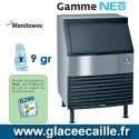 MACHINE GLACON CUBE MANITOWOC QYP0214A 98KG/24H