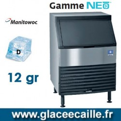 MACHINE GLACON CUBE 130KG/24H MANITOWOC