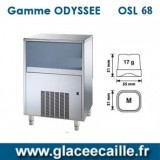 Machine à glaçons ronds 68kg/24h ODYSSEE