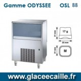 Machine à glaçons ronds 88kg/24h ODYSSEE