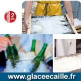 Machine à glace grain 80kg par24h ODYSSEE  stockage 15kg