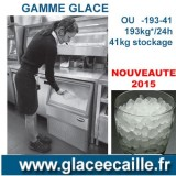 Machine à glace mini cube 193kg/24h ODYSSEE AVEC BAC DE STOCKAGE