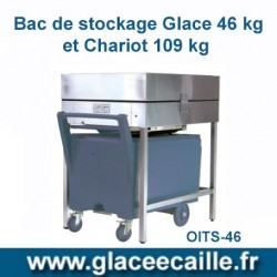 BAC DE STOCKAGE 46 KG ODYSSEE AVEC CHARIOT