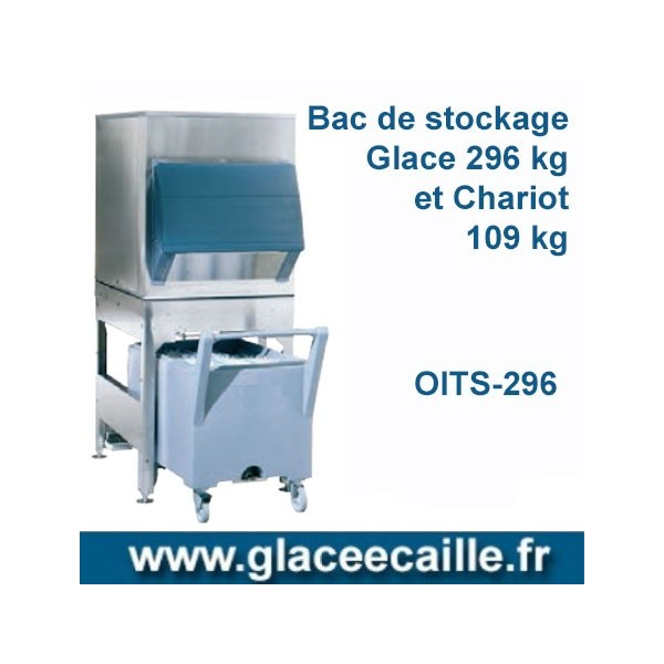 BAC DE STOCKAGE 296 KG ODYSSEE AVEC 1 CHARIOT