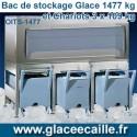 BAC DE STOCKAGE 1477 KG ODYSSEE AVEC 3 CHARIOTS