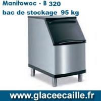 BAC DE STOCKAGE GLACE 95kg - MANITOWOC