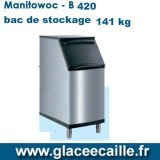 BAC DE STOCKAGE GLACE 141kg - MANITOWOC