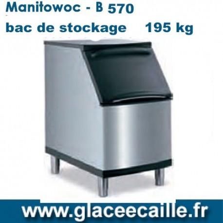 BAC DE STOCKAGE GLACE 195kg - MANITOWOC