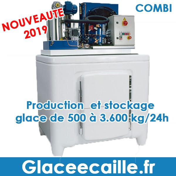 COMBI GLACE ECAILLE PRODUCTION ET STOCKAGE