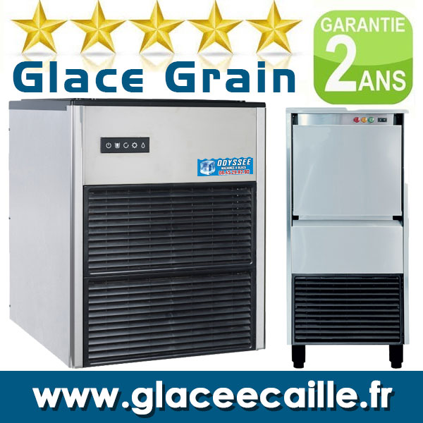 glace en grain paillette neige france