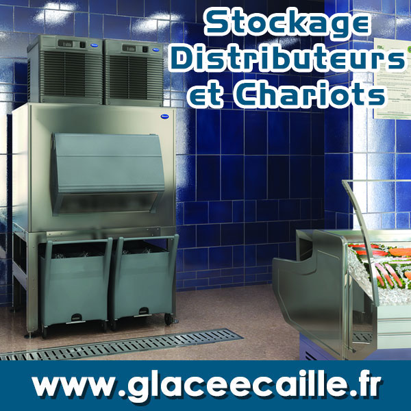 glace stockage bac chariot